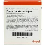 Embryo totalis suis Injeel 1,1ml